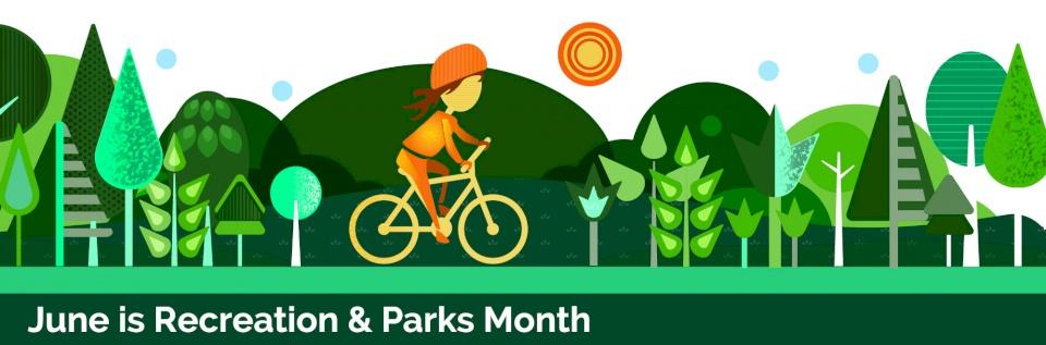 Celebrate Recreation & Parks background image